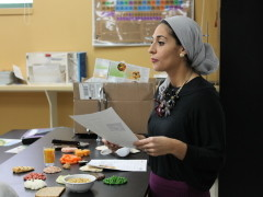 Students learn the values of healthy eating