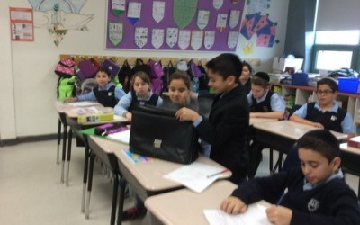 Grade 5 students master the art of debating