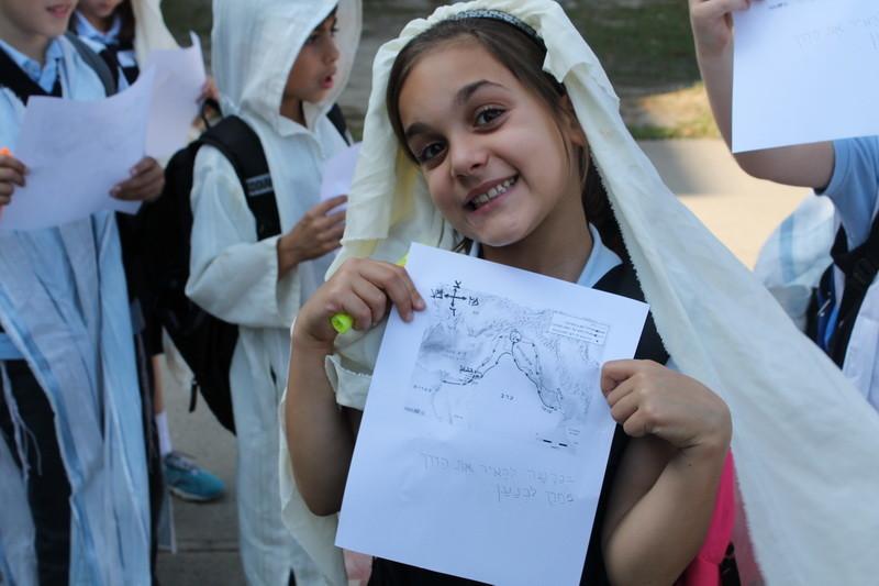 Le voyage des élèves de la deuxième année, à Eretz Canaan