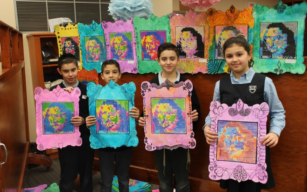 Students wow guests at Elementary's first-ever Art Vernissage