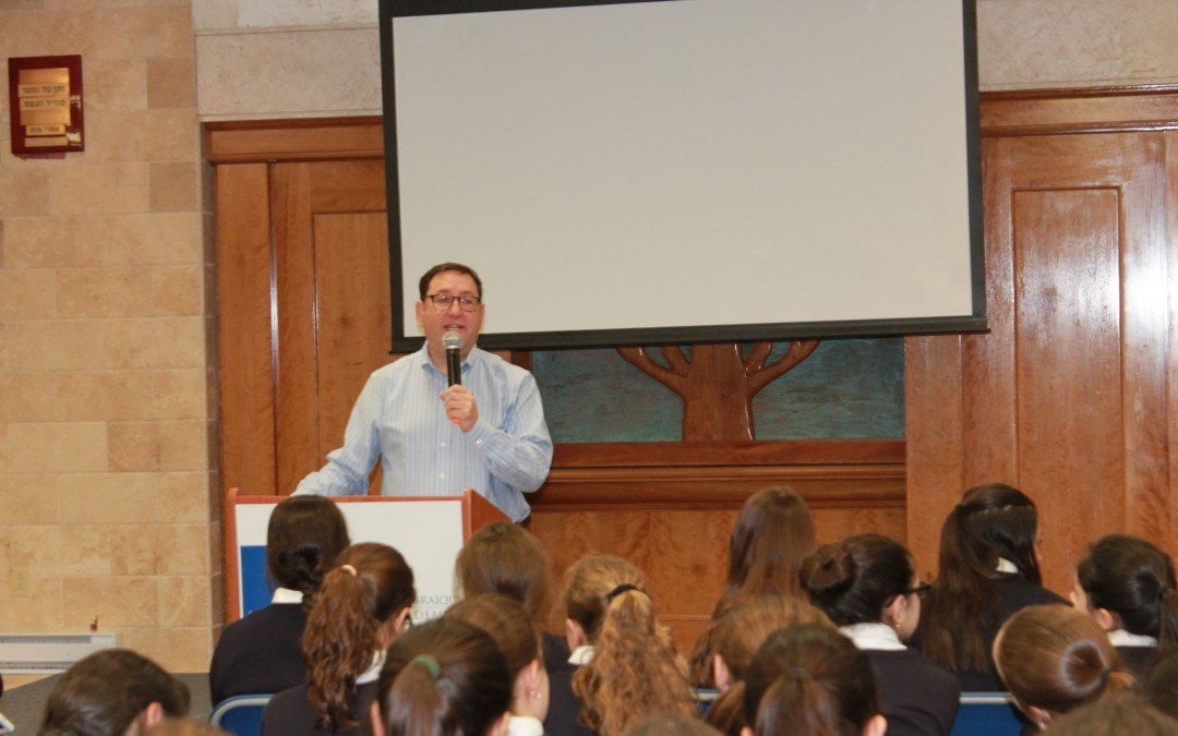Special assembly celebrates all things Pesach