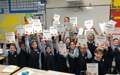 Hebrew Academy students thrilled to be protagonists of new book