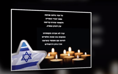 Yom HaShoah 5781: We will never forget