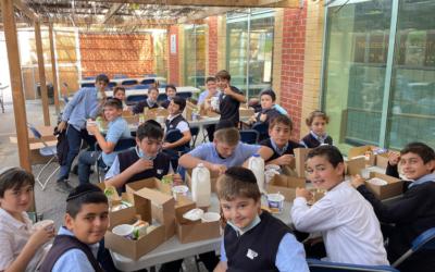 Celebrating Sukkot b'Simcha!